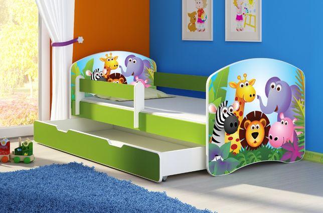 Łóżko, łóżeczko dziecięce Zielone 140X70