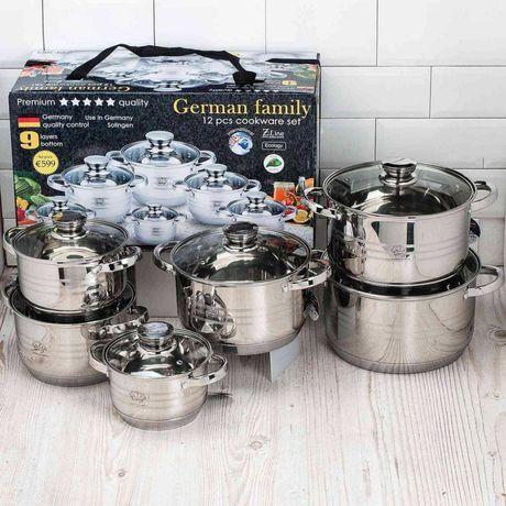 Набор кухонной посуды German Family GF-2025 с нержавеющей стали