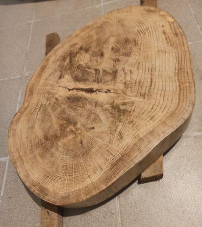 Plaster drewna, dąb, stół kawowy