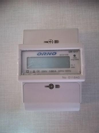 Licznik prądu 1-fazowy Orno OR-01Y Nowy
