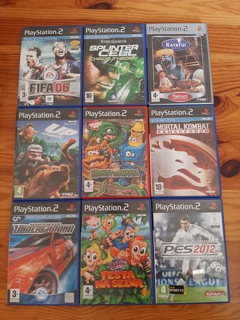 Vendo diversos jogos PS2