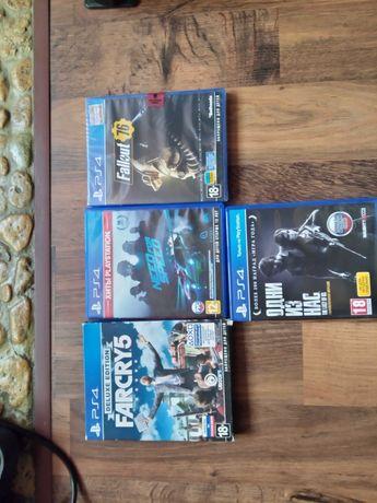 Продам диски с играми для PS4 (лицензия) №2