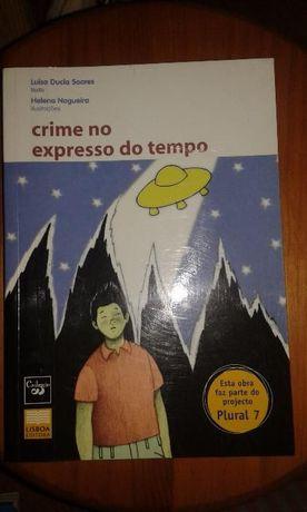 Crime no Expresso do Tempo de Luísa Ducla Soares (NOVO)