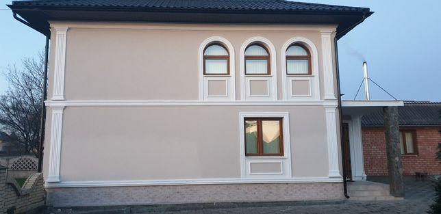 Фасадный декор из пенопласта. Производство. Черновцы Хмельницкий