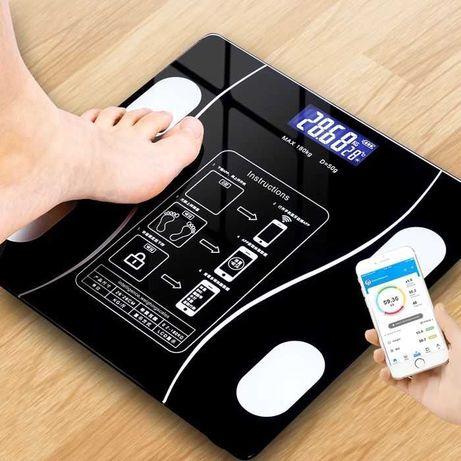 Умные напольные весы, Smart весы, Bluetooth Многофункциональные весы