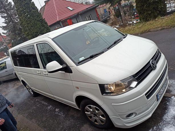Volswagen Multivan T5, wersja Atlantis, 1.9TDI, bogata opcja, TV+DVD