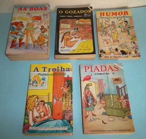 Revistas de Humor e Cartoon