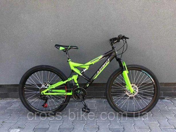 "Горный велосипед Azimut Scorpion 24"", 26"" дюймов Азимут Скорпион"