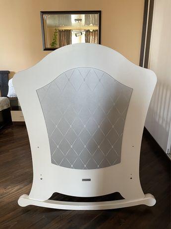 Детская кровать Micuna Big Alexa Relax, White-Silver, 140x70 см, білий