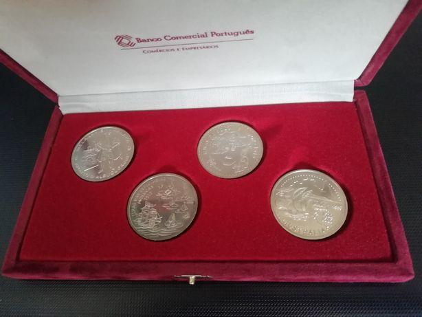 Colecção de moedas 200 escudos BCP