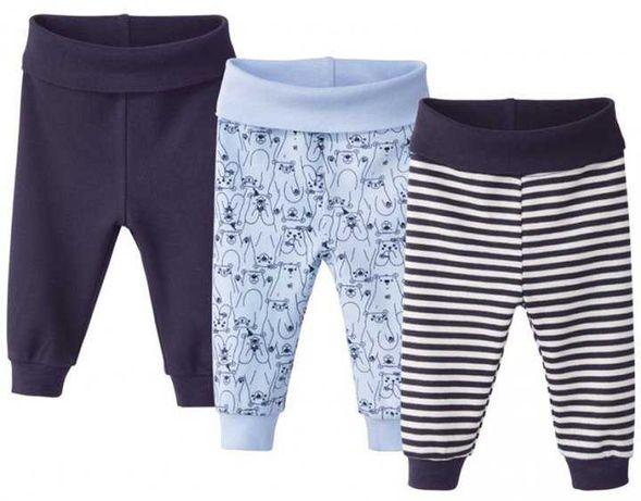 Набір із 3-х штанців хлопчику lupilu(штанишки мальчику)86-92