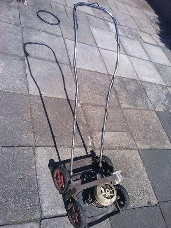 Kosiarka elektryczna do trawy, samoróbka, mocna, 120 zł.