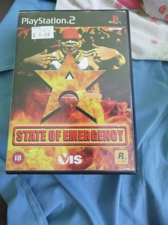 Gra State of Emergency playstation 2 , ps 2
