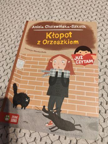 Kłopot z Orzeszkiem - książka dla dzieci 6+