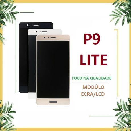 Ecrã LCD + Touch para Huawei P9 lite Branco, Preto e dourado