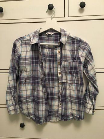 Koszula Cubus w kratę 134 9 lat