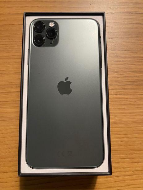 iPhone 11 Pro Max 256 GB kolor Nocna Zieleń - jak nowy