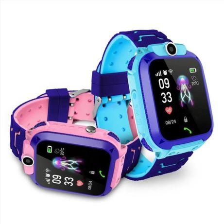 Умные Детские Смарт часы Smart Baby Watch Q12 (Родительский контроль)