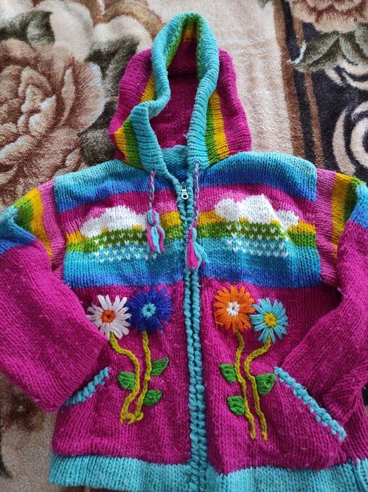 Кофта дитяча в'язана тепла Радивилов - изображение 1