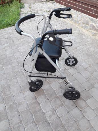 Роллатор ходунки SmitCare для инвалидов и пожилых людей