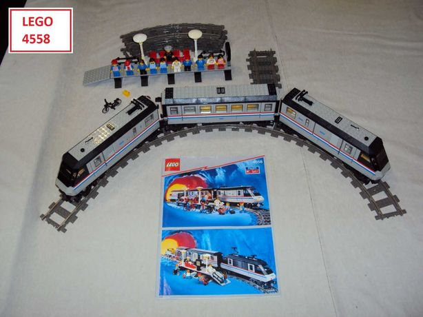 LEGO TRAIN (4 sets): 4558; 4551; 7755; 7838