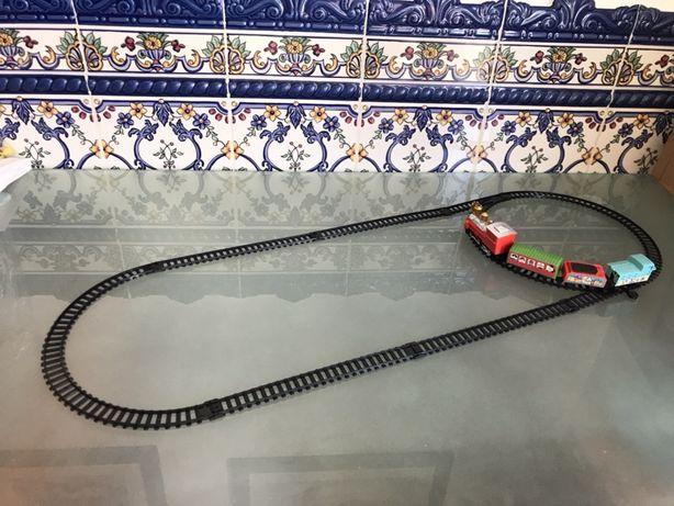 Comboio + Pista de comboios varias formas de montar