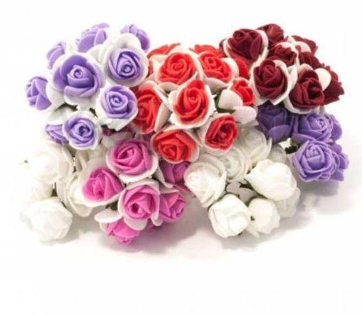 Цветы фоамиран  2.5 см