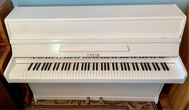 BIAŁE pianino THEIN gotowe do gry, Transport wniesienie