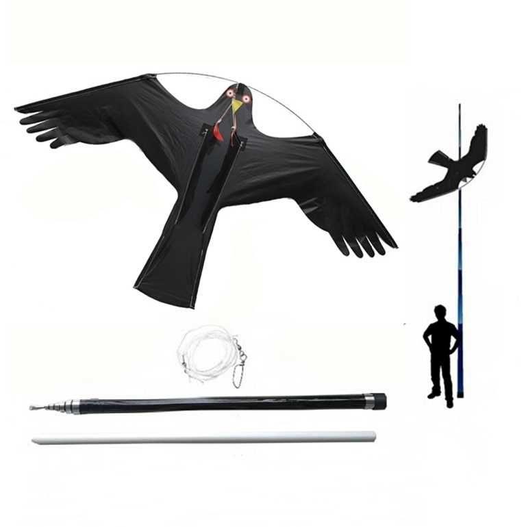 Odstraszacz Ptaków Latawiec Jastrząb CH2 - Maszt 4 metry - Palik