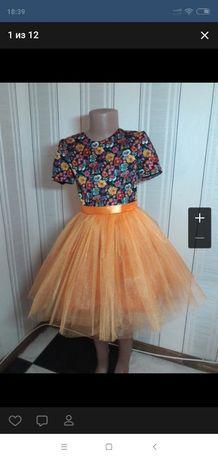 Платье на девочку,платя на дівчинку, розмір 122
