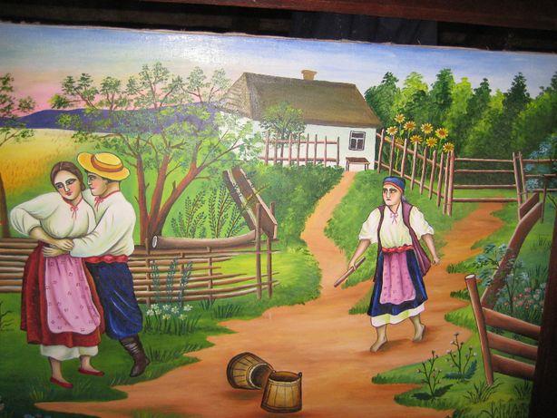 Картина маслом, Антиквар. Украінські мотиви