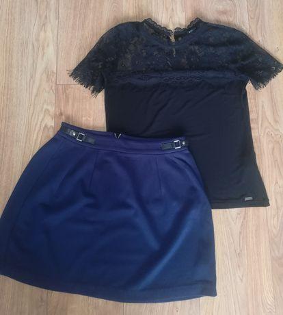 Bluzka Mohito + spódnica Reserved r. 34