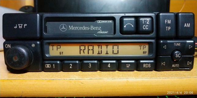 Штатная магнитола автомагнитола Мерседес Mercedes Becker BE1150