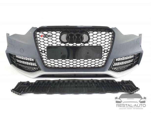 передний бампер Audi A5 2013-2015год в стиле RS5 бампер audi a5 ауди