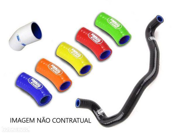 kit tubos radiador samco honda crf 450r 2013 - 2016 azul