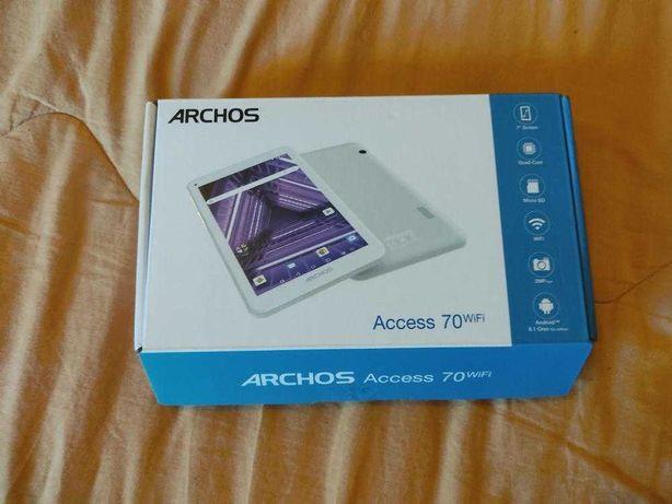 Tablet archos acess 70 wifi nunca usado