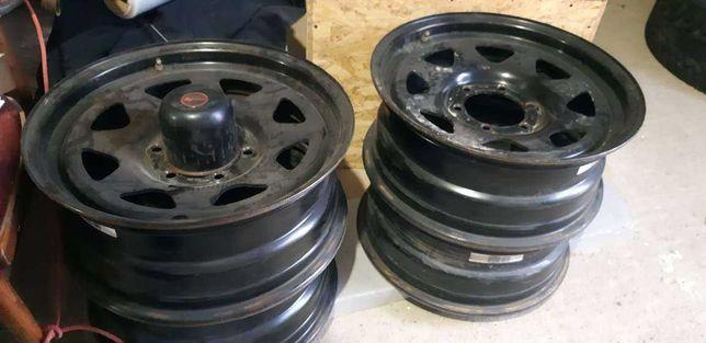 Литые диски Dotz Dakar R16 6x139,7 ширина 7, ET25 Black