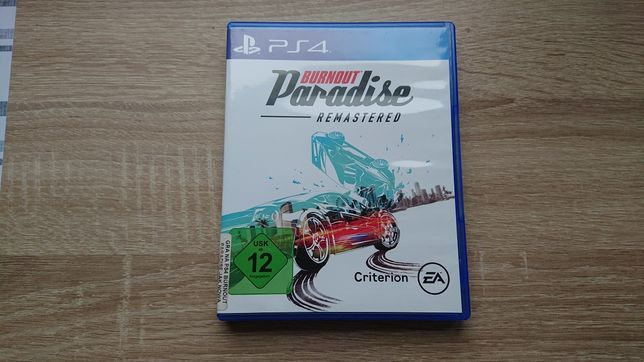Burnout Paradise Remaster PL PS4 Play station