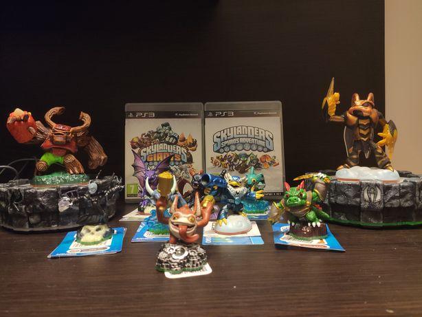 Skylanders pakiet: 8 figurek, 2 gianty, 2 portale, 2 gry PS3
