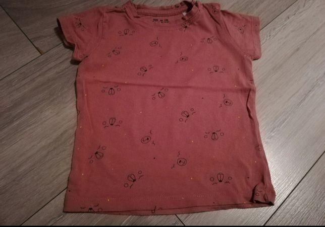 T-shirt dziewczęcy 80