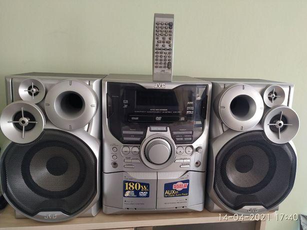 JVC DWD/CD/FM музыкальный центр (Торг)