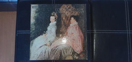 Caixa discos vinil Mozart