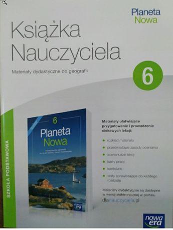 Książka nauczyciela Geografia planeta nowa klasa 6