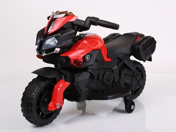 Pojazd Motorek Motor na akumulator SkyBike Czerwony