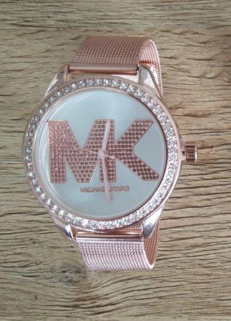 Zegarek damski, różowe złoto