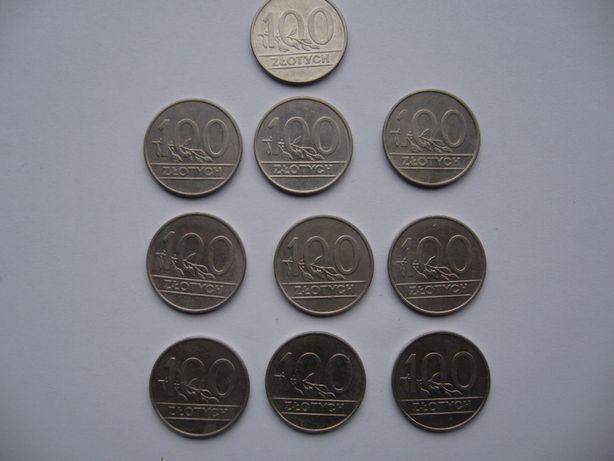 Monety 100zł PRL