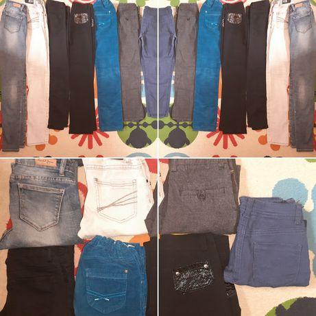 У школу джинси, брюки для дівчинки!
