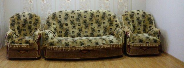 Мягкая мебель.Диван 2 кресла.