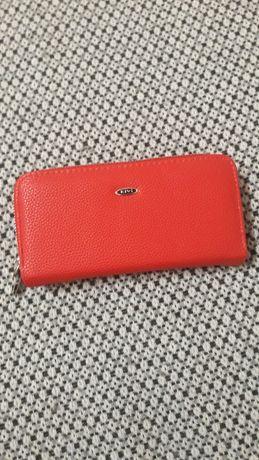 Жіночий гаманець, червоний. Красный кошелек