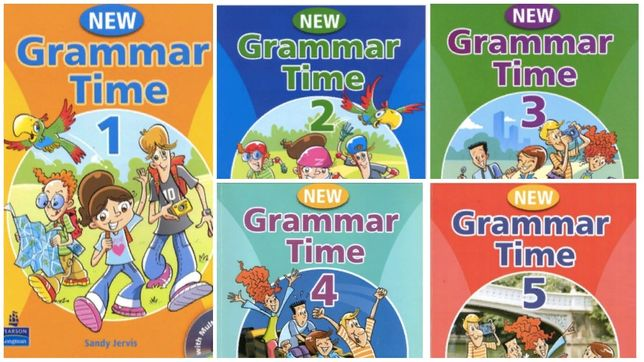 New Grammar Time 1 , 2 , 3 , 4 , 5 ПРОКЛЕЙКА